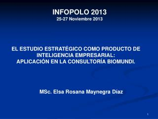 MSc. Elsa Rosana Maynegra Díaz