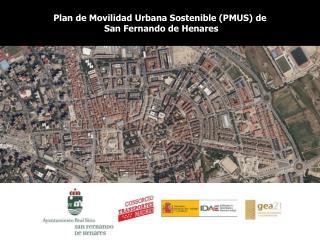 Plan de Movilidad Urbana Sostenible (PMUS) de  San Fernando de Henares