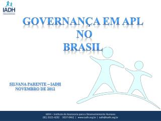 Governan�a em APL  no  Brasil