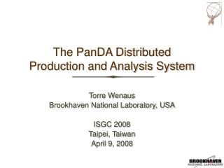 The PanDA Distributed Production and Analysis System