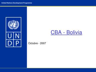 CBA - Bolivia