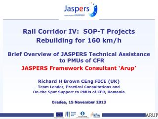 Rail Corridor IV:  SOP-T Projects Rebuilding for 160 km/h