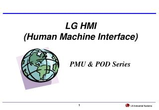 LG HMI  (Human Machine Interface)