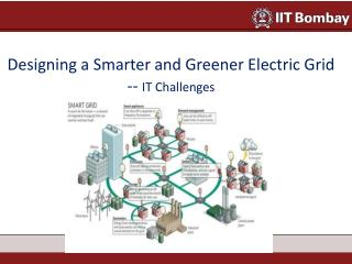 Designing a Smarter and Greener Electric Grid  --  IT Challenges