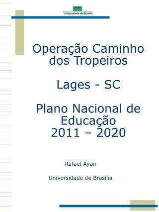 Rafael  Ayan Universidade de Brasília