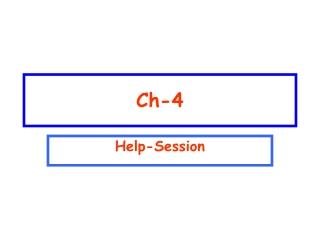 Ch. 6- H.264