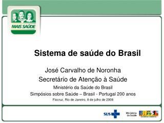 Sistema de saúde do Brasil