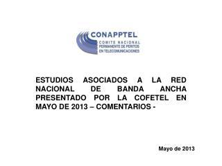 Mayo de 2013