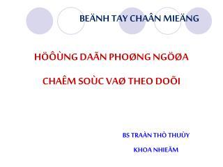 Beänh Tay Chaân Mieäng