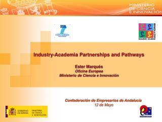Confederación de Empresarios de Andalucía  12 de Mayo