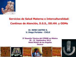 Servicios de Salud Materna e Interculturalidad: Continuo de Atención, D.S.S., DD.HH. y ODMs