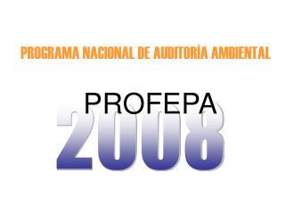 PROGRAMA NACIONAL DE AUDITORÍA AMBIENTAL