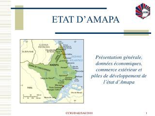 ETAT D'AMAP A