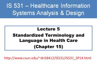standardized nursing language Ty - jour t1 - standardized nursing language for healthcare information systems au - delaney,connie au - mehmert,peg a au - prophet,colleen.