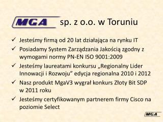 sp. z o.o. w Toruniu