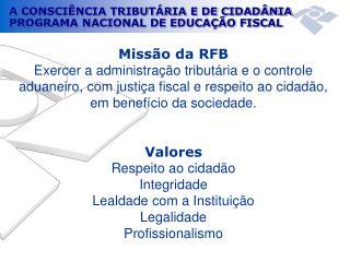 Missão da RFB