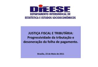 JUSTIÇA FISCAL E TRIBUTÁRIA: Progressividade da tributação e desoneração da folha de pagamento.