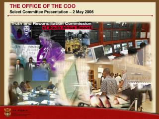 THE OFFICE OF THE COO