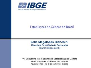 Estadísticas de Género en Brasil