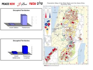 Settlements in the Gaza Strip, which are situated in the heart of a densely