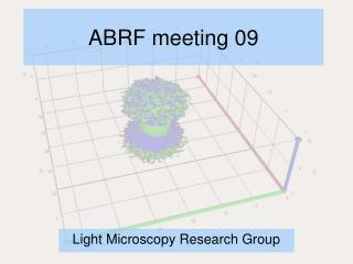 ABRF meeting 09