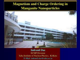 Indranil Das ECMP Division  Saha Institute of Nuclear Physics,  Kolkata