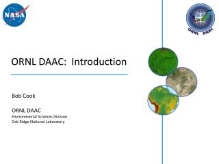 ORNL DAAC:  Introduction