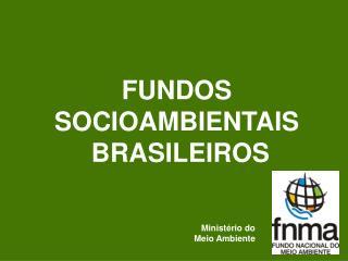 FUNDOS SOCIOAMBIENTAIS  BRASILEIROS