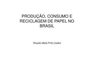 Ricardo Motta Pinto Coelho