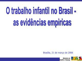 Brasília, 21 de março de 2006