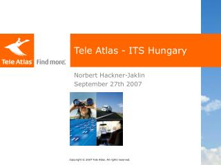 Tele Atlas - ITS Hungary
