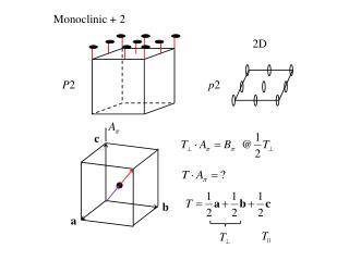 Monoclinic + 2