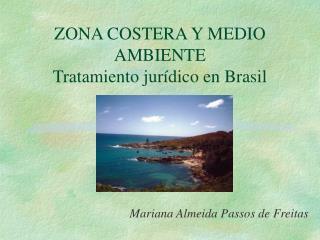 ZONA COSTERA Y MEDIO AMBIENTE Tratamiento jurídico en Brasil