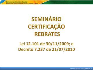 S�o Paulo/SP � 23/ Agosto /2010