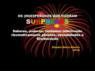 Cl áudia Maria Ribeiro UFLA