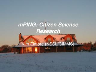 mPING: Citizen Science Research