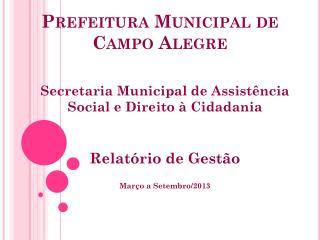 Prefeitura Municipal de Campo Alegre