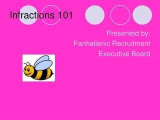 Infractions 101