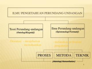 Teori Perundang-undangan (Ontologi/Kognitif)