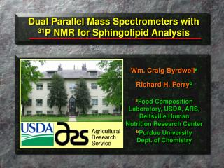 Dual Parallel Mass Spectrometers with  31 P NMR for Sphingolipid Analysis