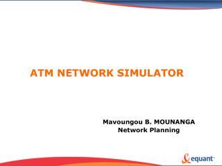 ATM NETWORK SIMULATOR
