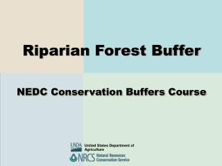 Riparian Forest Buffer NEDC Conservation Buffers Course