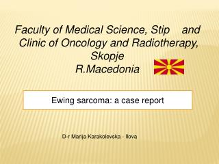 Ewing sarcoma: a case report