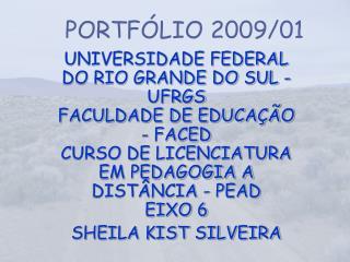 PORTFÓLIO 2009/01