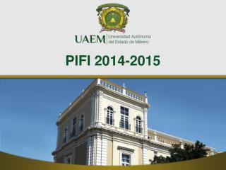 PIFI 2014-2015