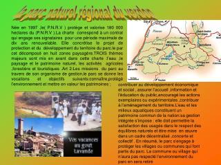 la parc naturel régional du verdon