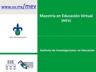 Instituto de Investigaciones en Educación