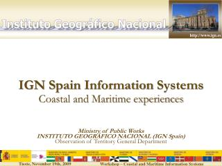 IGN Spain Information Systems