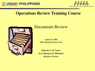 Operations Review Training Course