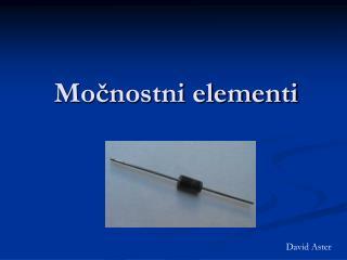 Močnostni elementi
